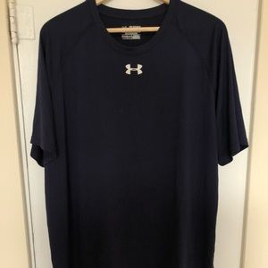 Men's navy 2xl athletic shirt